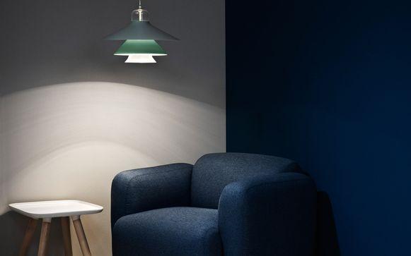 Hanglamp Ikono, 320 euro.