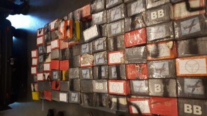 Nederlander verstopt voor 19 miljoen aan coke achter dubbele wand in bestelbus