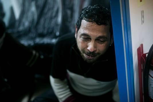 Deze Syrische vluchteling werd gered uit de Egeïsche Zee