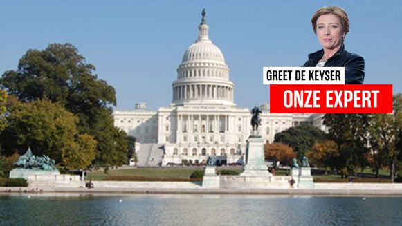 Washington met Greet De Keyser.