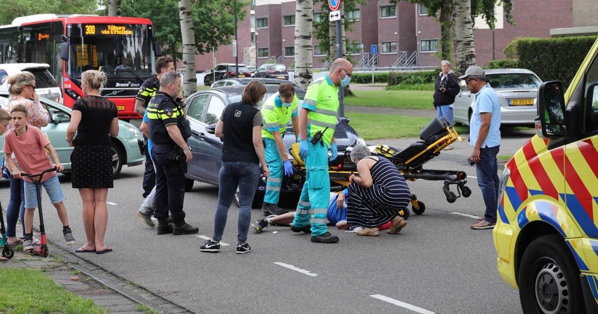 Man op de fiets aangereden in Waalwijk.