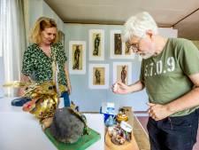 Hommage aan een overleden kunstenares
