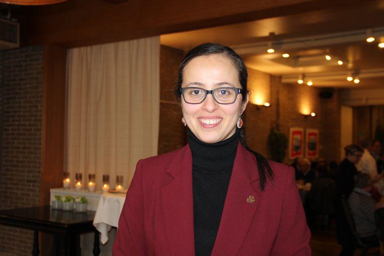 Faiza El Ghouch (35) is de nieuwe voorzitster van CD&V Ronse.