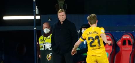 Koeman voert een dag voor presidentsverkiezingen druk op Atlético op met zege Barça