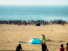 Des incidents sur la plage à Ostende, la police massivement sur place