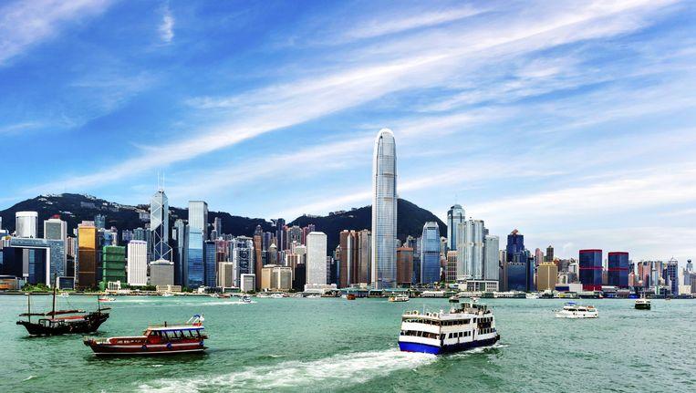 Hongkong is één van de steden die bedreigd wordt door de stijgende zeespiegel. Beeld THINKSTOCK