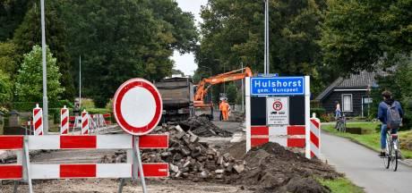 Omleiding moet druk van de ketel halen tijdens wegwerkzaamheden in Hulshorst