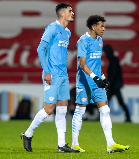 Luis Felipe is bij Jong PSV net zo'n teamspeler als zijn makker Mauro Júnior bij PSV