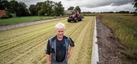 Boer Mark uit Tubbergen maakt zich zorgen om droogte: 'Opbrengst van mais is gewoon veel te laag'