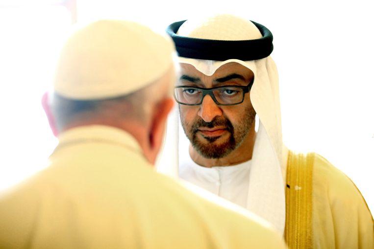 Sjeik Mohamed bin Zayed al-Nahyan. Beeld Photo News