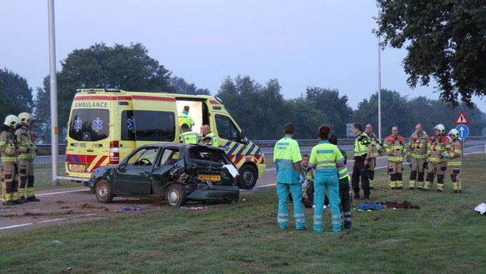 De auto van de slachtoffers reed 50 km/u onder de maximum snelheid