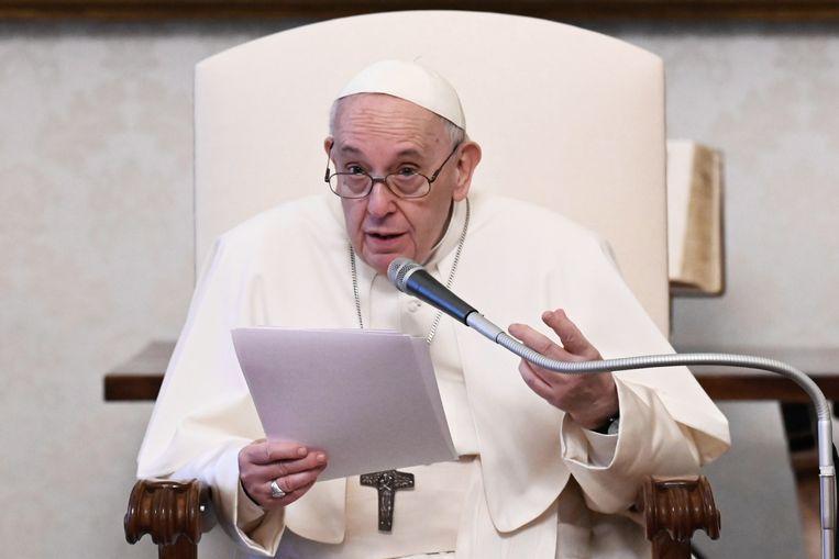 Paus Fransiscus. Beeld EPA
