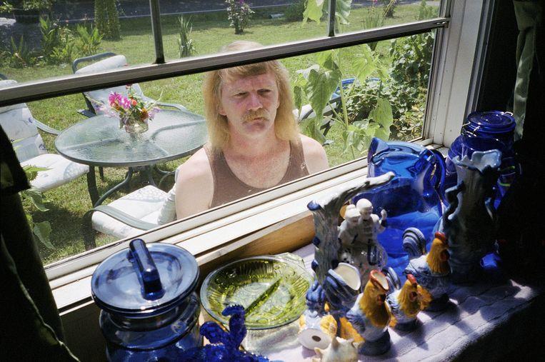Foto van Allan uit 2007, gemaakt in de Amerikaanse stad Chattanooga. Beeld Bertien van Manen