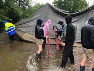Woensdag werd hun kamp nog afgebroken door noodweer, zondag kunnen leden Chiro Tijl toch terugkeren naar Beth
