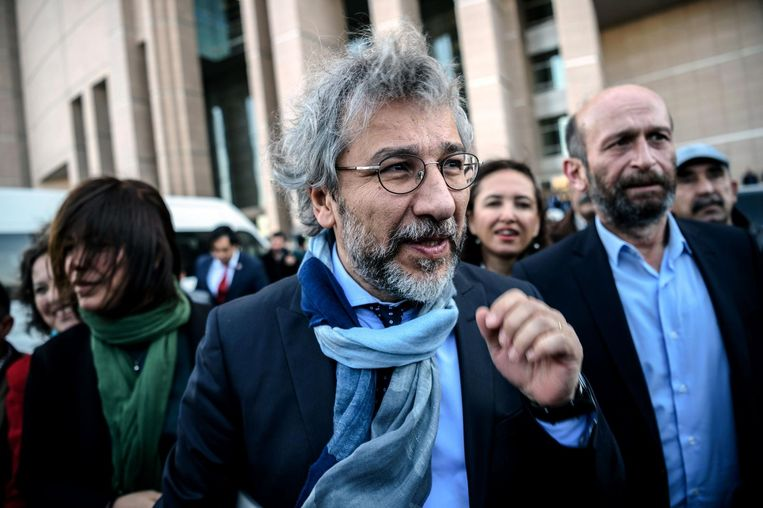 Journalist Can Dündar. Beeld AFP