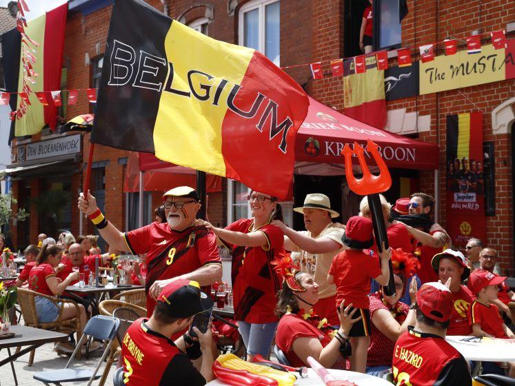 #REDCHALLENGE. Van dansende Chiroleden en polonaise tot zwemmende Duiveltjes: Halle kleurt zwart-geel-rood na uitdaging Eden Hazard