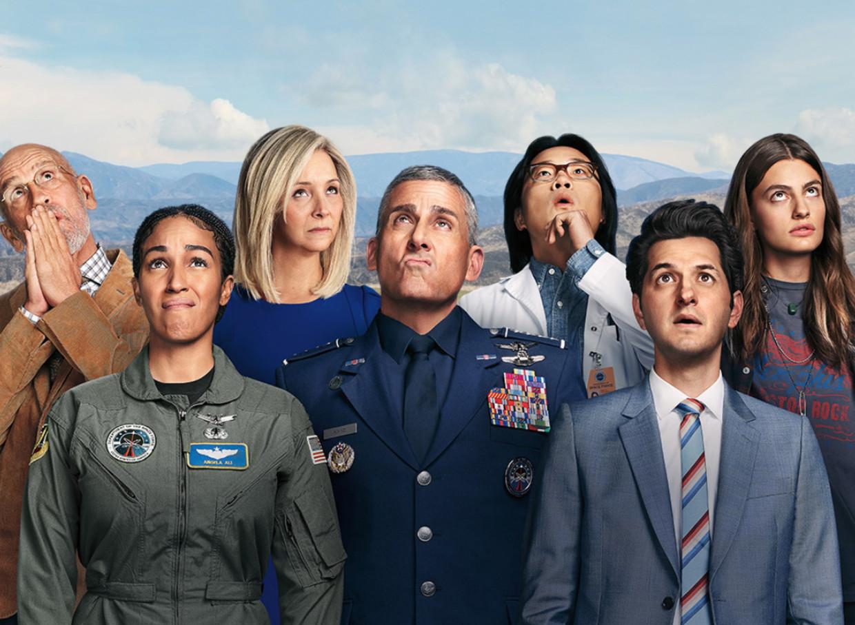 'Space Force' op Netflix. Beeld Netflix