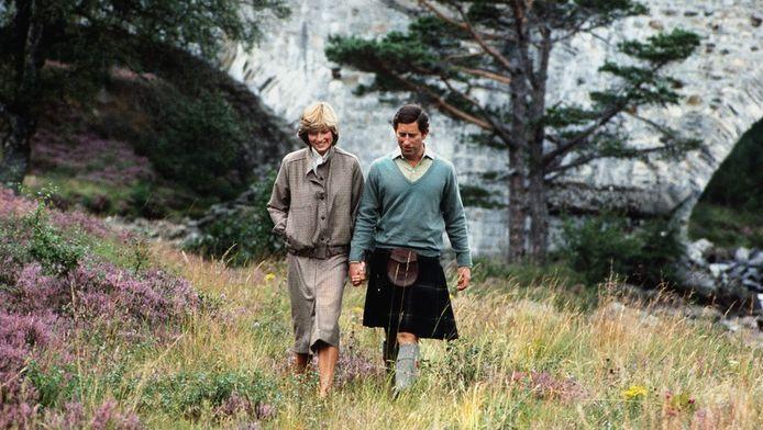 Diana en Charles in 1981.