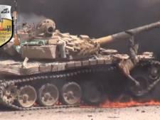Islam Brigade slacht Syrische tankbemanning af