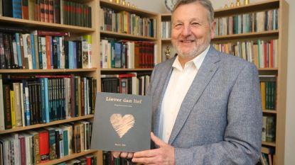 Ere-stadsdichter Gui G. Nijs stelt met 'Liever dan lief' zijn nieuwe dichtbundel voor