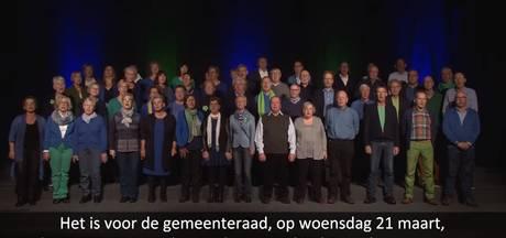 Lied 'Heel Steenbergen stemt' in de zeik genomen bij Jinek