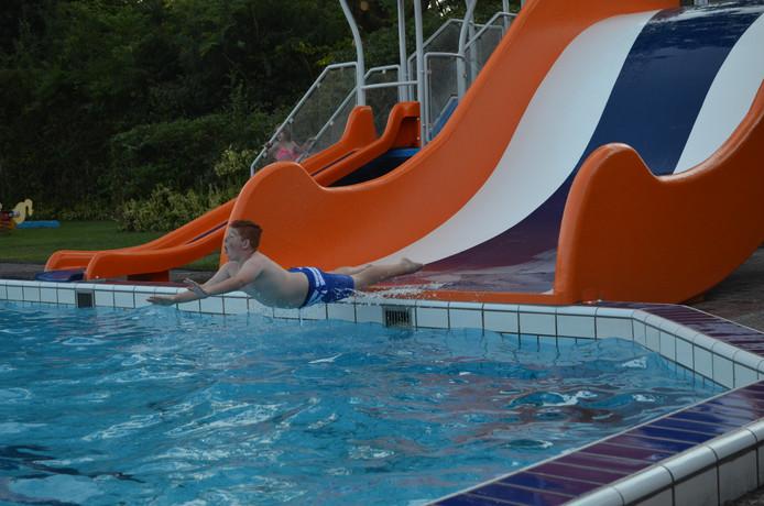 Zwemmen, maar niet in de zon.