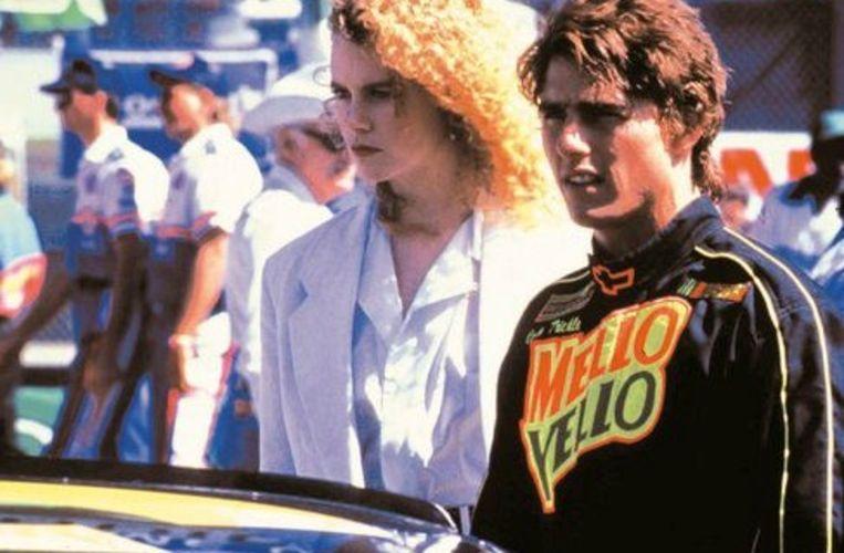 Op de set van 'Days of thunder' leerden Nicole Kidman en Tom Cruise elkaar kennen. Beeld rv