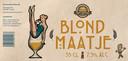 Blond Maatje. 7,5% Donkerblond, volle smaak, forse schuimkraag: 'Marilyn Monroe onder de speciaalbieren'.