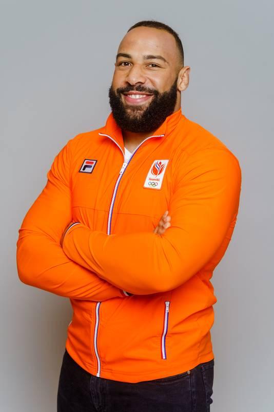 Portret van judoka Roy Meyer