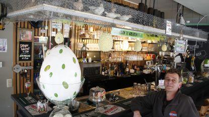 Grappig of er ver over? Aalsterse cafébaas houdt 16 levende kuikens boven zijn toog