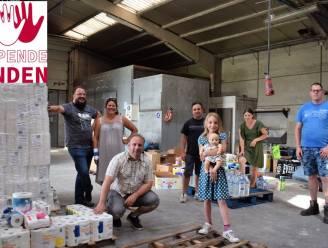 """'SOS Meetjesland helpt Wallonië' bundelt Meetjeslandse krachten en blijft spullen verzamelen: """"Met onze eigen ogen gezien dat het nodig is"""""""