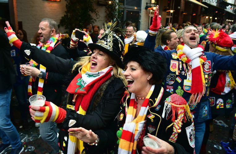 Carnaval in Den Bosch, 20 februari.  Beeld Marcel van den Bergh / de Volkskrant