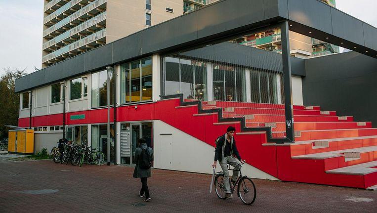 Goedkope woningen voor studenten op campus Uilenstede in Amstelveen. Beeld Marc Driessen