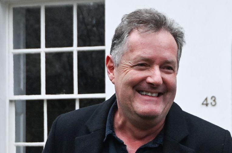 Piers Morgan, die Meghan Markle 'Prinses Pinokkio' noemde. Beeld Reuters