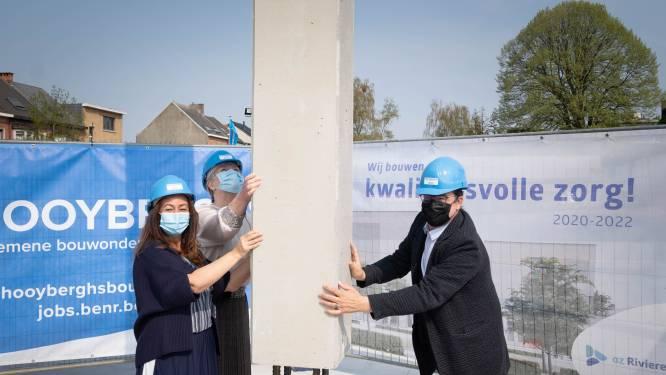 """Eerste steen van nieuwe ziekenhuiscampus is gelegd: """"Nieuwbouw klaar in voorjaar 2022"""""""