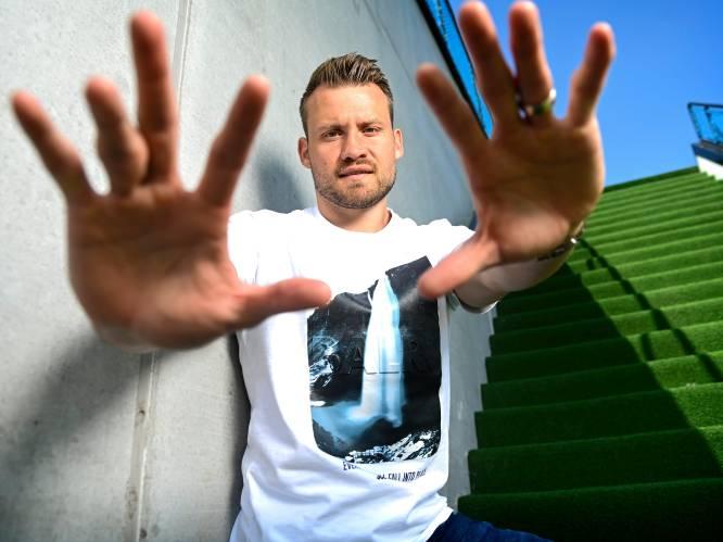 """INTERVIEW. Simon Mignolet (33) verre van klaar bij Club Brugge: """"Mijn droom? Titel pakken met mijn zoon in de tribune"""""""