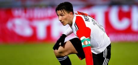Feyenoord neemt afstand van 'walgelijk spandoek' gericht aan Steven Berghuis