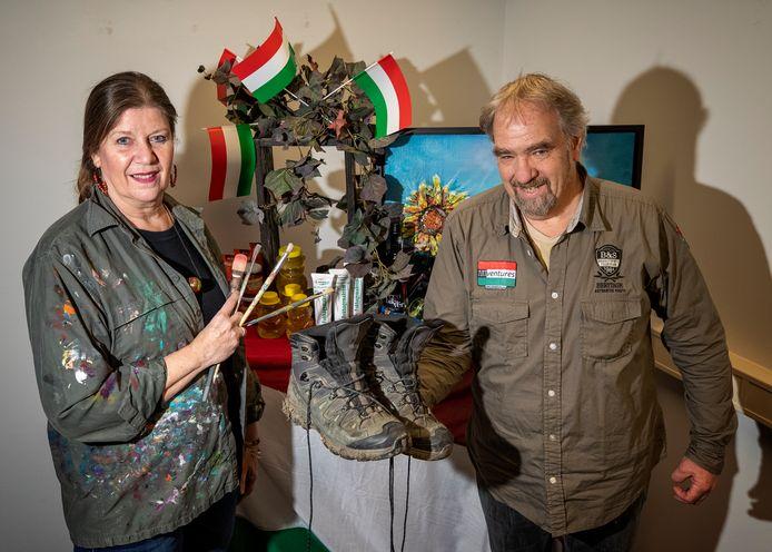 Annerie Mol en Jean Wabbijn laten met Artventures de mooiste kanten van Hongarije zien .