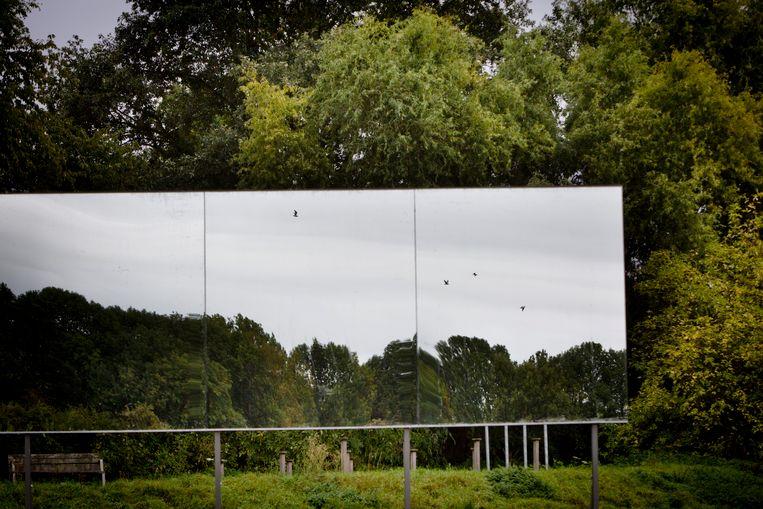 Nieuw kunstwerk bij Het Speelhof in Sint-Truiden.