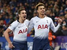 Tottenham handhaaft zich in top drie na uitzege bij Leicester