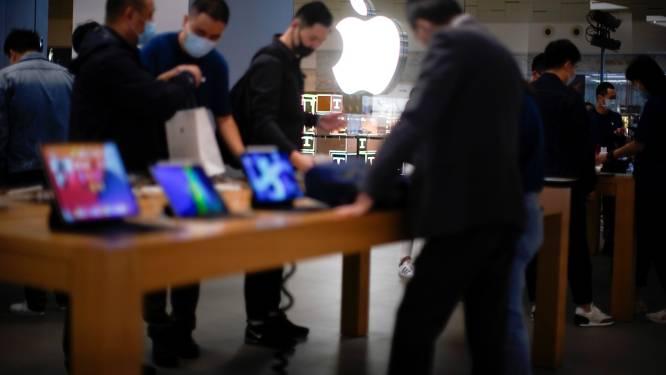 Apple verkoopt meer Macs en minder iPhones