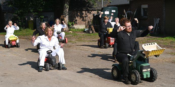 De voorstelling Iets met boeren moet verder reiken dan de gemeente Sint Anthonis.
