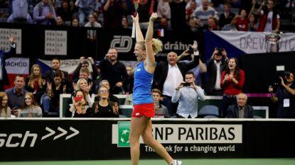 Anderson wint eerste partij ATP Finals, Federer meteen in het verlies - Tsjechië pakt Fed Cup na marathonpartij van bijna vier uur