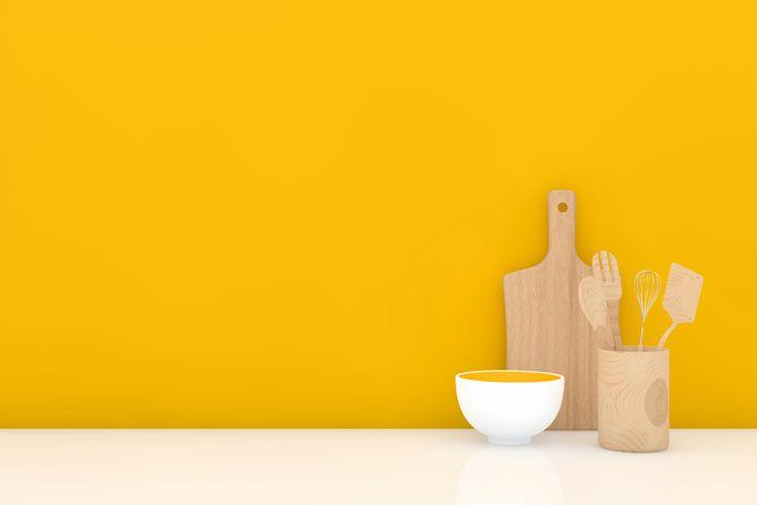 Voor zijn nieuwe huis gaat wonen-redacteur Stefan ten Teije voor een gele keuken.