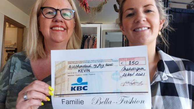 Bella-Fashion steunt Kevin (29) die in elkaar werd geslagen: 850 euro door verkoop kunstwerkjes