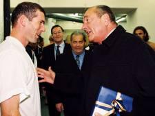 """Zidane rend hommage à Chirac: """"Je suis triste, c'était le président de tous les sportifs"""""""