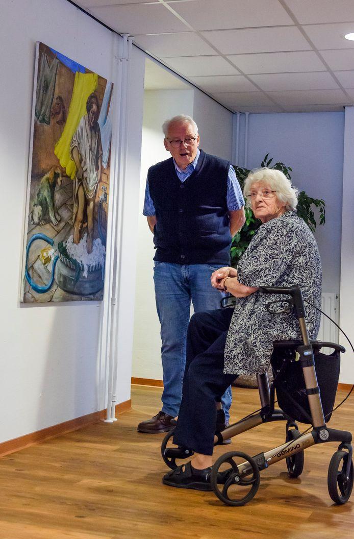 Bewoners, vrijwilligers en medewerkers van Vitalis hebben kunstwerken gemaakt voor de expositie.