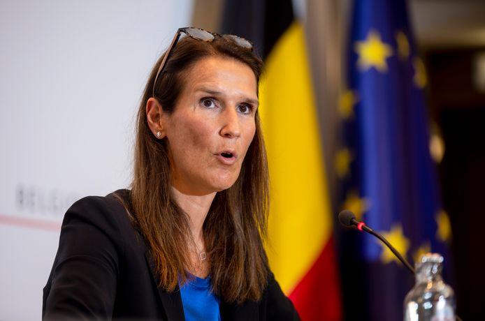 Sophie Wilmès, ministre des Affaires étrangères
