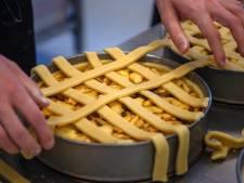 Puike appeltaart, en zonder stress gebakken