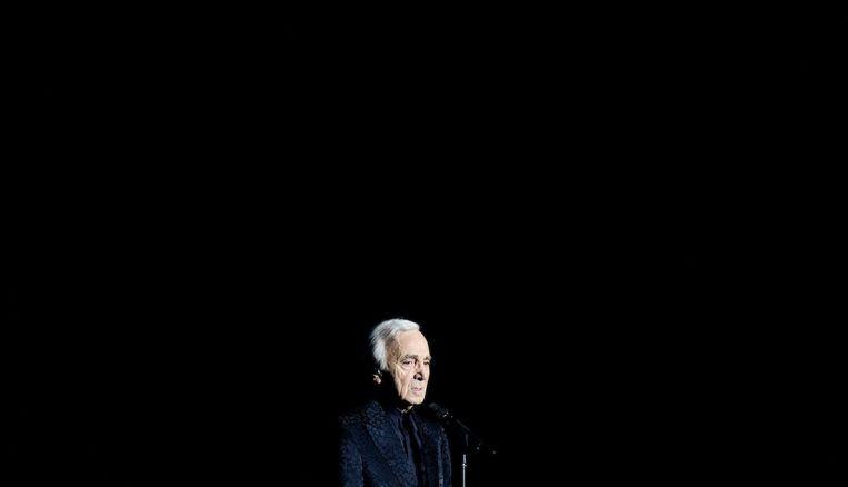 De Franse zanger in de Heineken Music Hall ruim drie jaar geleden. Beeld anp